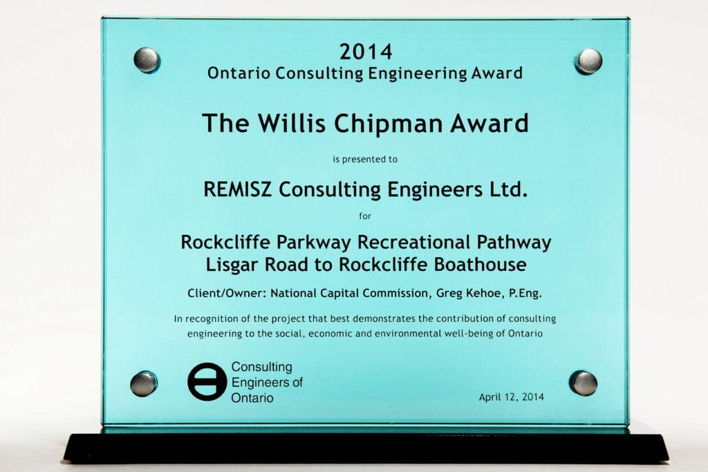 Willis Chipman Award 2014